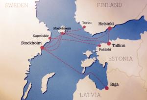 Finland, Estland, Letland og Sverige med Tallink Silja Line