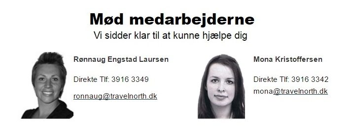 Kontakt Travelnorth - din Hurtigruten partner