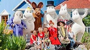Mummi troldene i Moomin World med Tallink Silja Line
