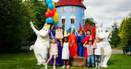Ferie til børn i Mummi world tema park i Åbo | Tallink Silja Line