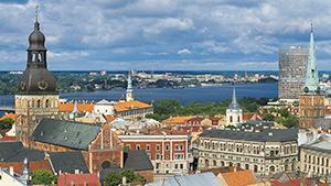 Riga set fra oven - tallink.dk
