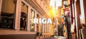 minicruise til Riga