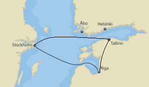 Stockholm - Riga - Tallinn - Stockholm