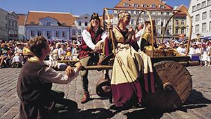 Tallinn middelalder marked |Tallink Silja Line