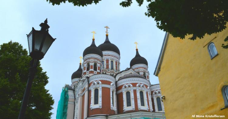 Tallinn russisk inspireret katedral - Ruby Rejser - af Mona Kristoffersen