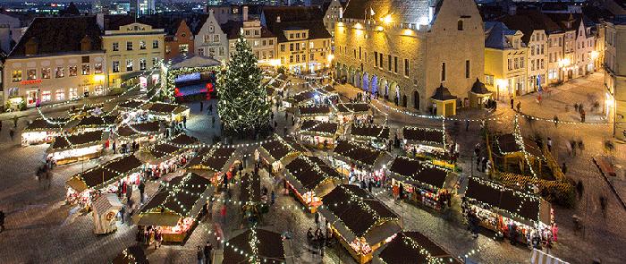 Tallinn julemarked med Tallink Silja Line