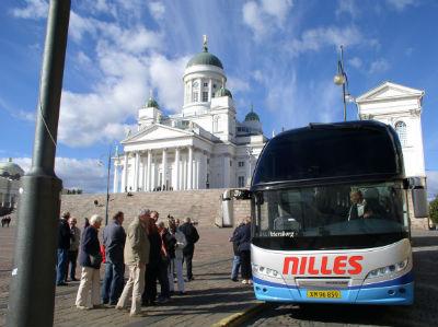 Nilles rejser i Helsingfors