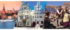 Kør selv ferie med cruise til Riga og Tallinn - oplev 3 hovedstæder med Tallink Silja Line