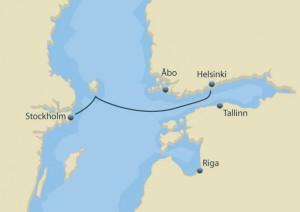 Afgangstider fra Stockholm til Helsingfors/Helsinki