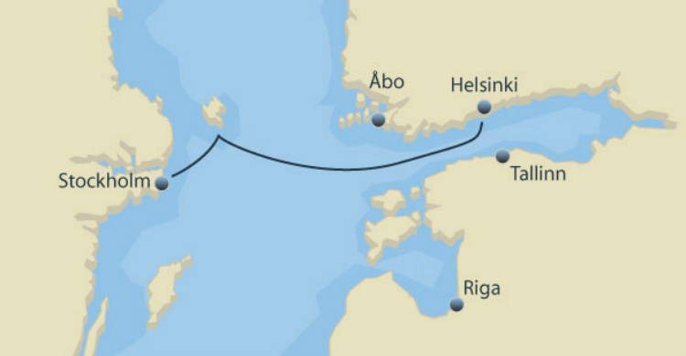 Stockholm til Helsinki krydstogt med Tallink Silja Line - Ruby Rejser
