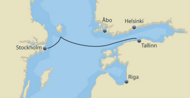 minicruise fra Stockholm til Tallinn - Ruby Rejser